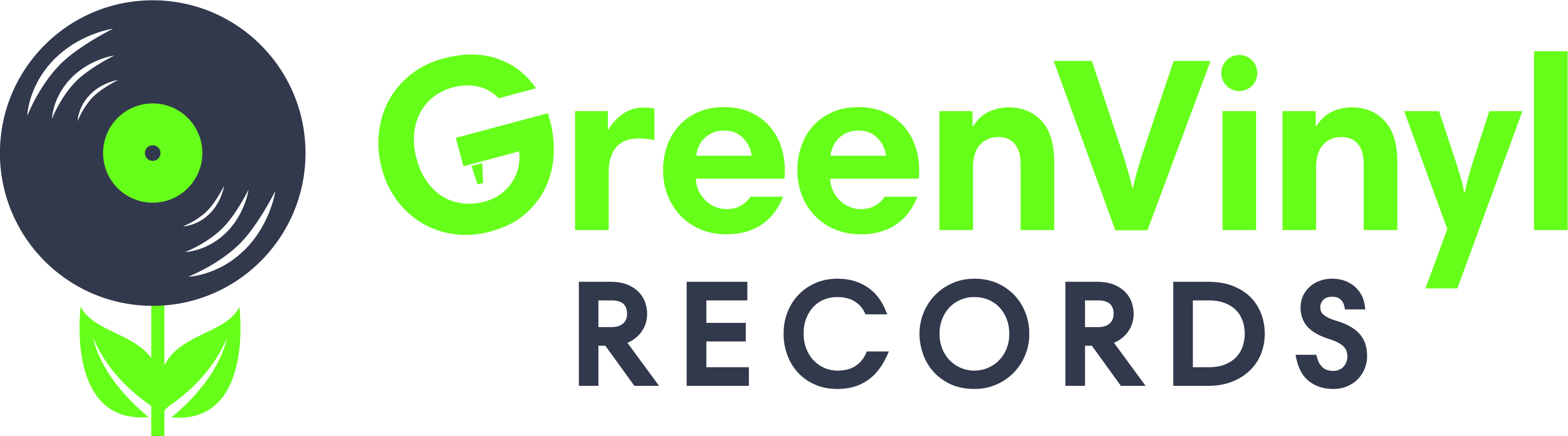 Green Vinyl Records Logo2